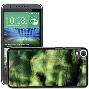 Hot Style Cell Phone PC Hard Case Cover // M00151720 Green Out Of Focus Structure // HTC Desire 820