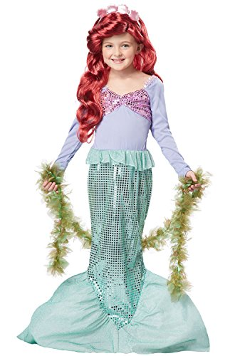 Halloween Costumes For 7 Year Old Girls (California Costumes Toys Little Mermaid, Small)