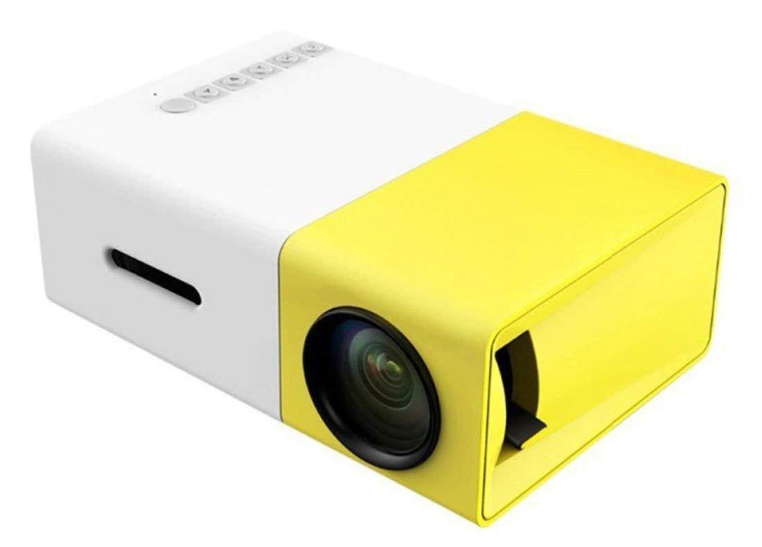 Mini Proyector WiF, STOGA YG300 Portá til Proyector LED Cine en Casa Compatible PC Portá til USB Stick USB / SD / AV / Entrada HDMI para Video / Pelí cula / Juego Video Proyector