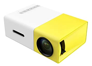 Mini Proyector WiF, STOGA YG300 Portátil Proyector LED Cine en Casa Compatible PC Portátil USB Stick USB / SD / AV / Entrada HDMI para Video / ...