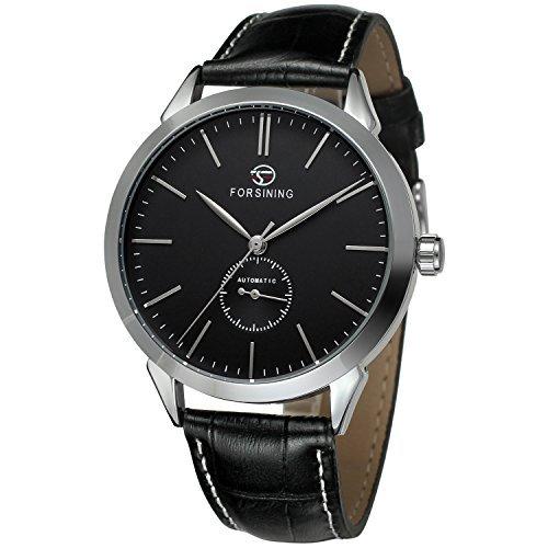 forsining reloj de muñeca analógico automático de Casual Dial Moda Hombre fsg8083 m3s4: Amazon.es: Relojes