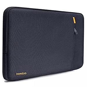 tomtoc 360° Protective Sleeve for Apple 15 Inch New MacBook Pro 2016-2018 with Touch Bar   14 Inch HP Acer Chromebook, Shockproof Spill-Resistant 15 Inch Laptop Bag Tablet Case