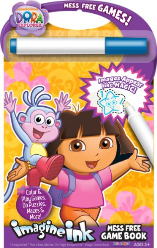 [Bendon Dora the Explorer Mess-Free Game Book] (Dora Diego And Boots)