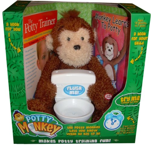 Toys For Potty Training : Potty monkey training toy and toilet