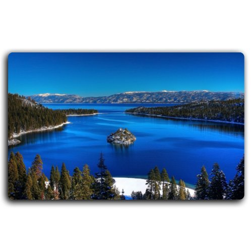 Lake tahoe landscape of the United States features creative tourism souvenirs Magnetic fridge magnet (6) (Lake Tahoe Fridge Magnet compare prices)