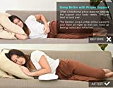Gentle Living Cooling Lumbar Support Pillow for
