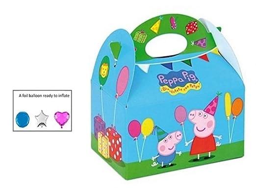 15 cajas de comida de fiesta Peppa para niños, para llevar ...