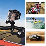 Waterproof SJ9000 Wifi 1080P 4K Ultra HD Sports Action Camera DVR Cam Camcorder (Gold)