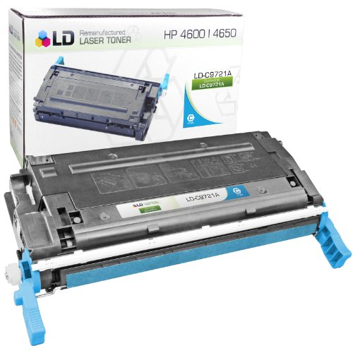 LD Remanufactured Toner Cartridge Replacement for HP 641A C9721A (Cyan) - Hp C9721a Cyan Laser