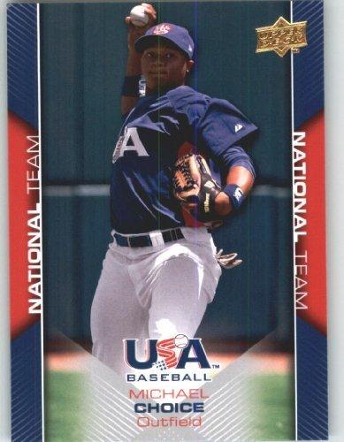 Upper Deck Usa Rookie Baseball - 2009 Upper Deck USA Baseball Rookie Card #USA-7 Team USA