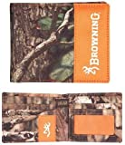 Browning Bi-Fold Camo Field Wallet (Mossy Oak Infinity Camo, Rugged Polyester Fabric, Sold Individually)