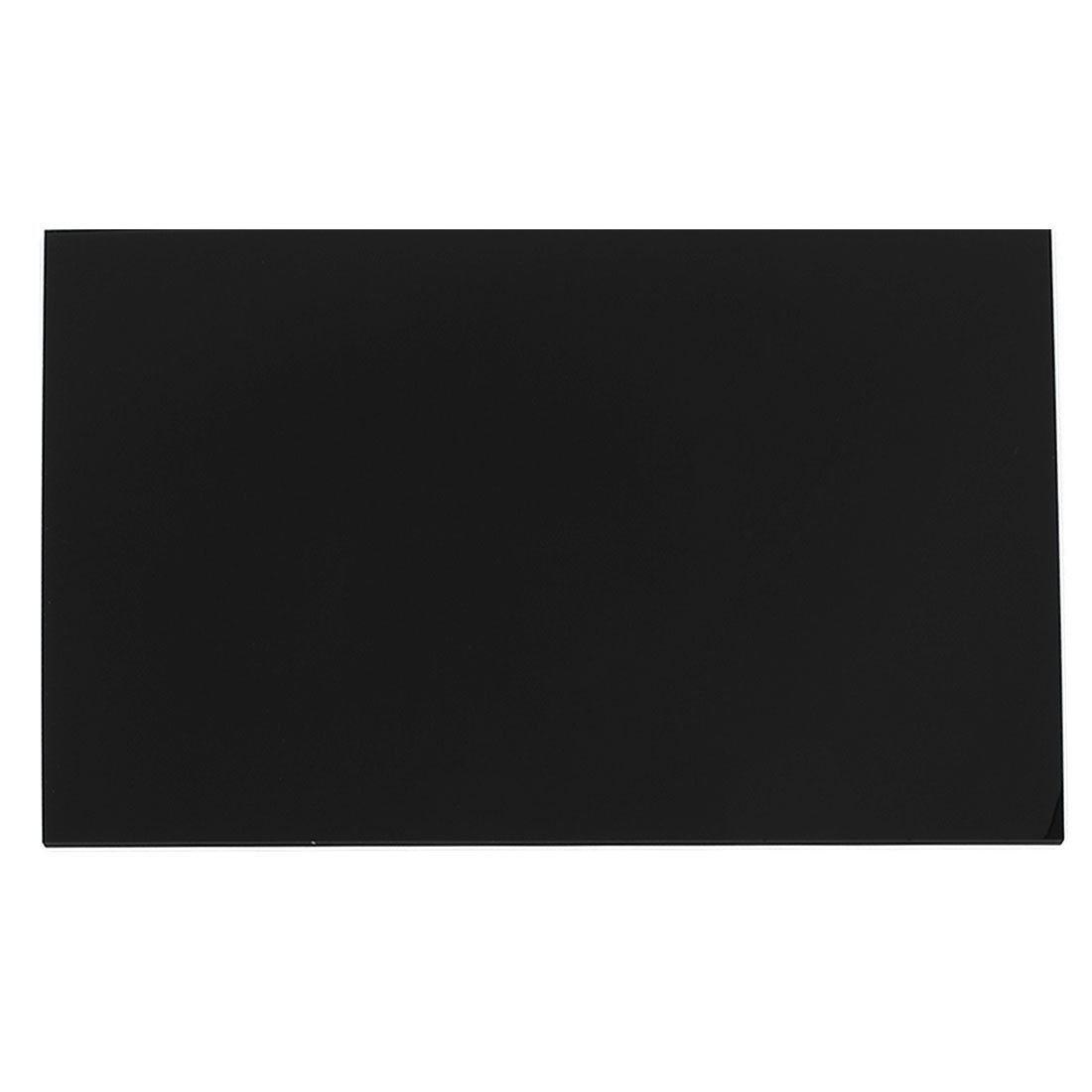 Uxcell 3 mm Black Plastic A4 Acrylic Plexiglass Perspex Sheet 210 mm x 297mm