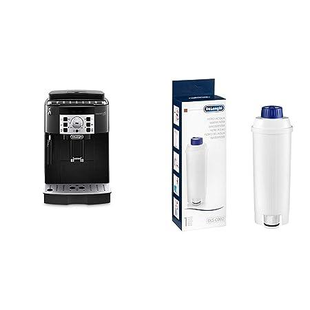 DeLonghi Magnifica S Ecam 22.110.B - Cafetera superautomática, 15 bares de presión, 13 programas ajustables, auto-limpieza + DeLonghi DLSC002 - ...