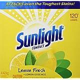 Sunlight Lemon Fresh Powder Laundry Detergent, 120 Wash Loads 4.42-Kilograms