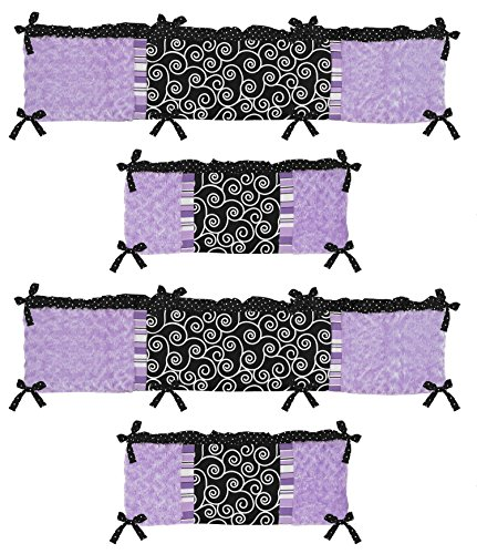 Kaylee Collection Crib Bumper by Sweet Jojo - Collection Kaylee