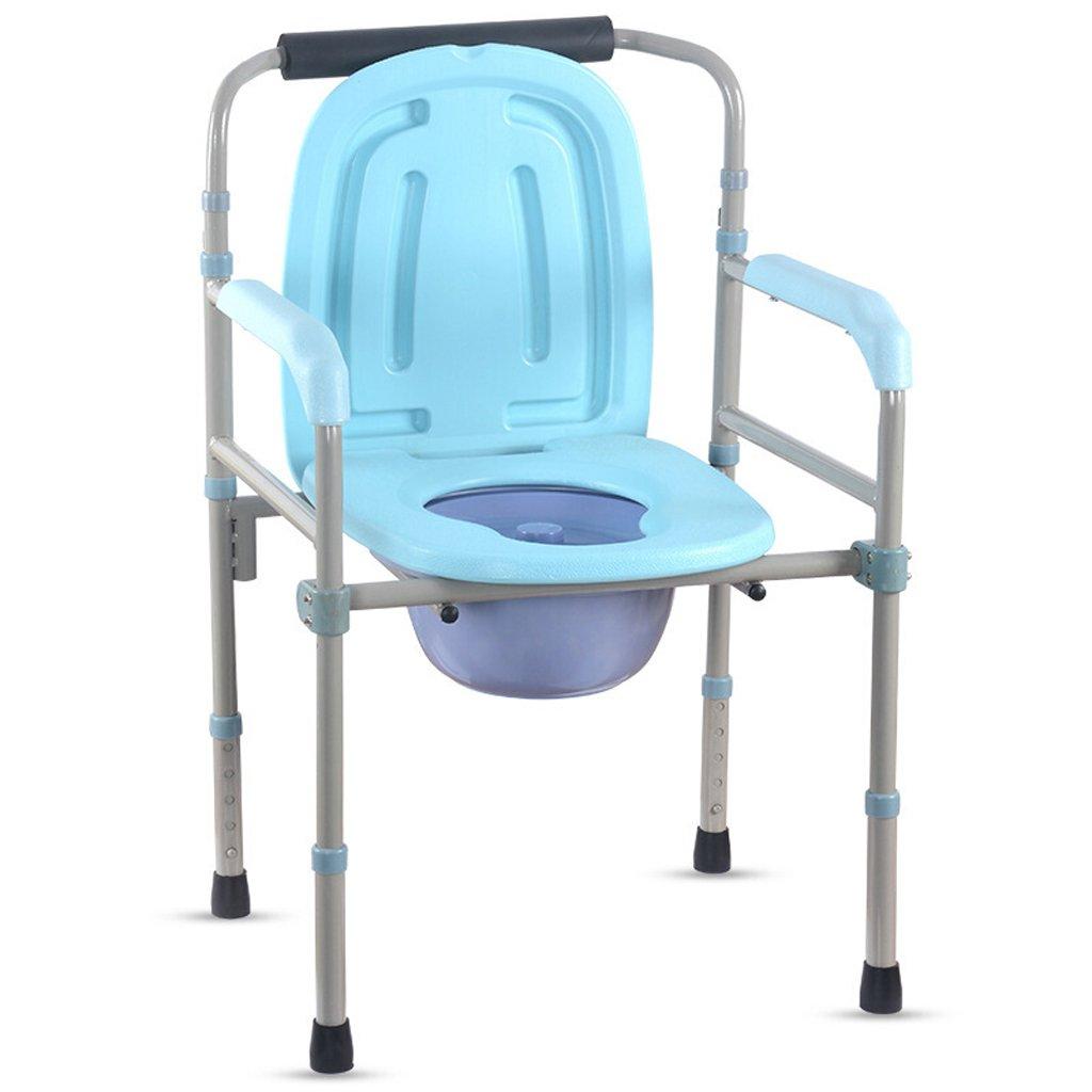 LXN 椅子バスチェア便座折りたたみ妊婦老人トイレ椅子丈夫な防水ステンレス鋼 B07DPCRJY9