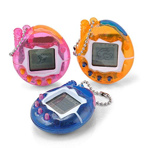 (Yidarton Electronic Pets Child Toy Key Digital Pets Tumbler Dinosaur Egg Virtual Pets (Style-A))