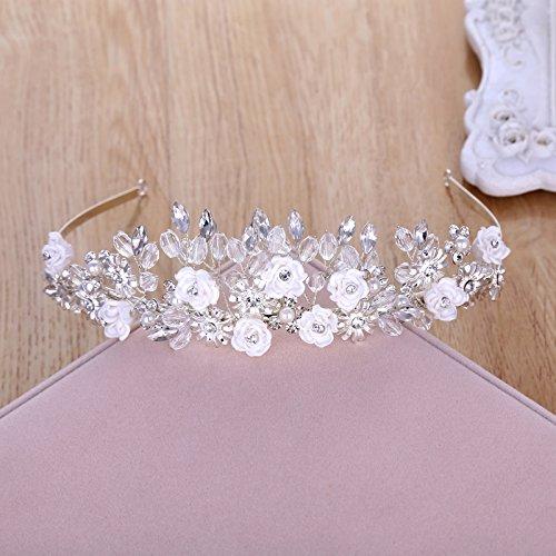 XPY   DGX Accessori Per Capelli Da Sposa E Da Sposa Bridal Tiara fiore  coreano c7c6541a22df