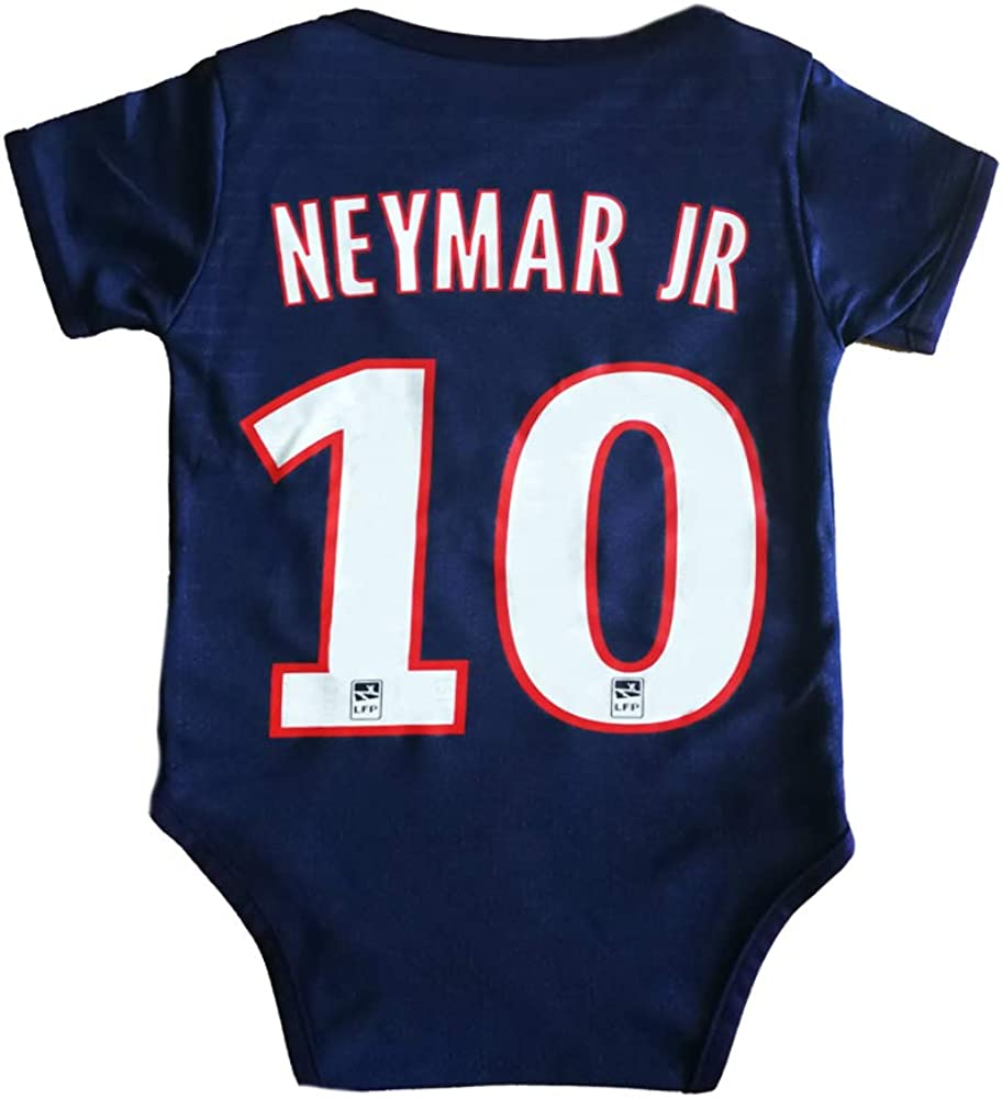 Louishop Football Club Home Soccer Baby Bodysuit Comfort Jumpsuit for 0-18 Months Infant and Toddler New Season
