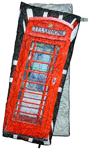 REVALCAMP Lightweight Sleeping Bag – Phonebooth – Indoor Outdoor use. Great for Kids, Teens Adults. Ultra Light and Compact Bags are Perfect for Hiking, Backpacking, Camping Travel.