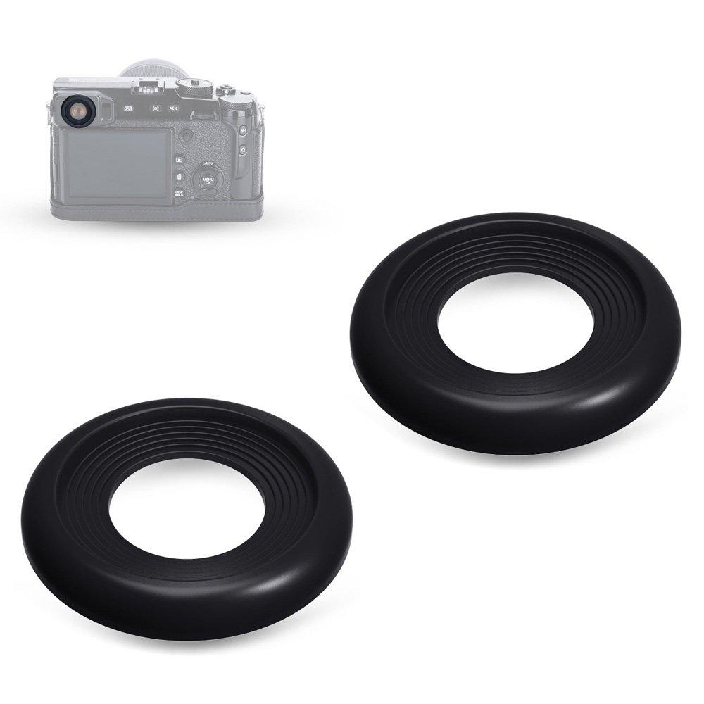 JJC Soft Silicone Eyepiece/Eyecup for Fuji Fujifilm FinePix X-PRO2 Camera