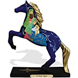 """Enesco Trail of Painted Ponies """"O Holy Night"""" Nativity Stone Resin Figurine, 8.23"""""""