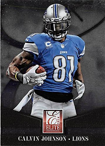 Calvin Johnson football card (Detroit Lions Megatron) 2014 Elite #33  free shipping