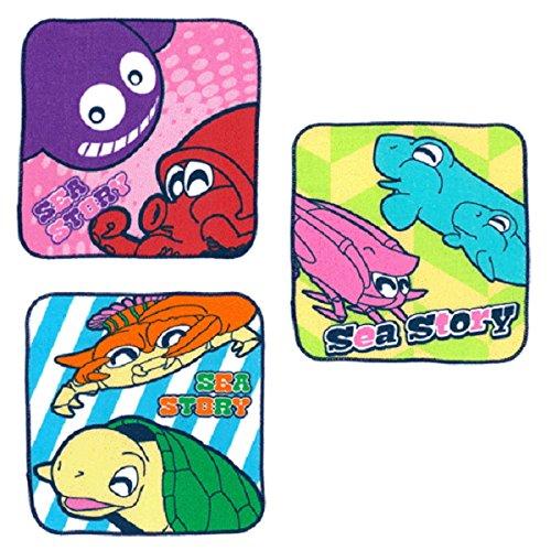 海物語 プチタオル パステルver. 3種セットの商品画像