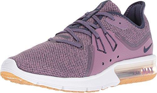 NIKE WMNS Air Max Sequent 3 Womens 908993-501 Violet DUST/Neutral Indigo-Obsidian Running Shoes (9.5 B US)