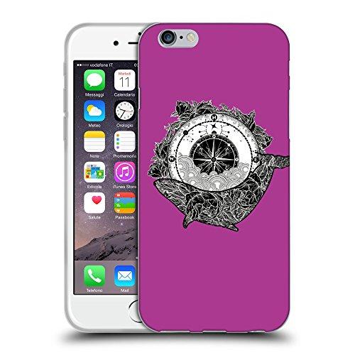 GoGoMobile Coque de Protection TPU Silicone Case pour // Q07630621 Boussole antique 1 byzantin // Apple iPhone 7