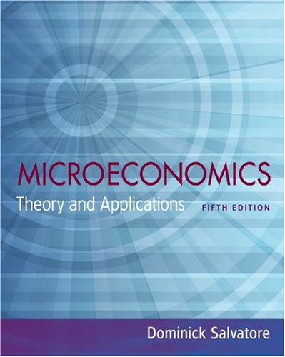 microeconomics price theory and applications