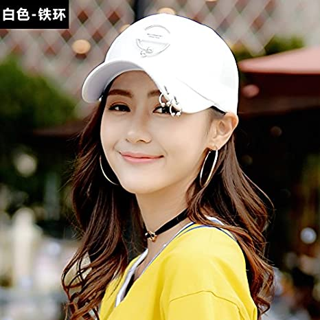 Amazon.com: Girls Baseball Cap Couple White hat Summer Sunscreen Sun hat Man Sequin Peaked Cap,Adjustable,Black Sequins: Kitchen & Dining