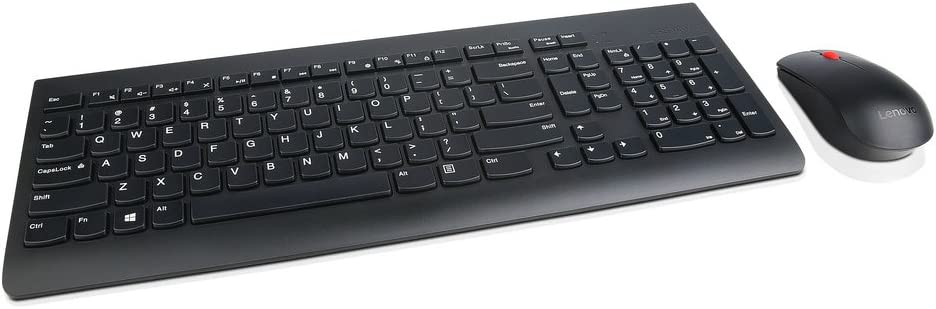Lenovo 4X30M39458 Combo Wl Keyboard Mice Wrls,Black
