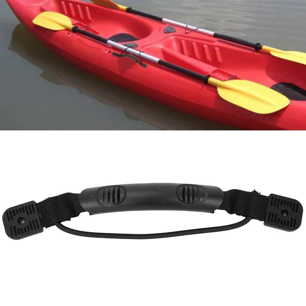 Alomejor Kayak Carry Handle 2pcs Kayak Canoe Boat Side Mount Carry Handle with Nylon Rope for Boat Canoe