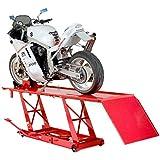 Motorradhebebühne XXL rot 450KG