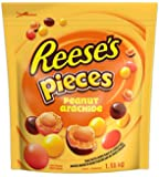 REESE Pieces Chocolate Candy Filled with Peanuts, 1.18kg Bulk Bag