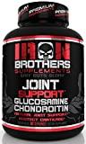 Joint Support - Glucosamine Chondroitin Turmeric - Anti Inflammatory Formula Pain Relief Supplement MSM, Boswellia for Men & Women - Non GMO - 90 Veggie Capsules - 30 Servings