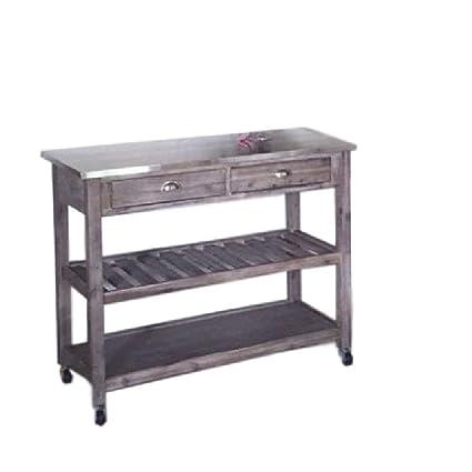 Amazon.com - Short Kitchen Utility Cart Multipurpose Storage ...