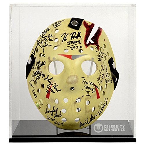 [Friday the 13th Jason Voorhees Cast Autographed Mask Series 2] (Jason Vorhees Masks)