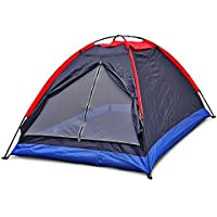 Flexzion 2 Person Folding Tent Single Layer for Outdoor...
