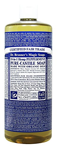 Dr Bronners Pure Castile Bottle Peppermint product image