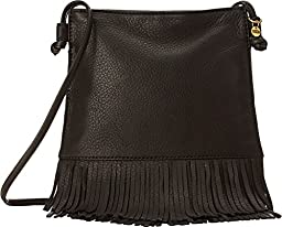 HOBO Super Soft Meadow Cross Body Bag, Black, One Size