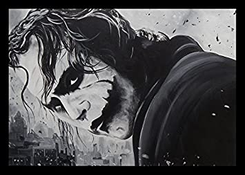 FRAMED The Joker by Ed Capeau 36×24 Giclee Edition Art Print Poster