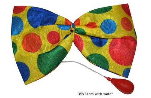 Noeud papillons Clown et lance eau - Taille Unique Funny fashion
