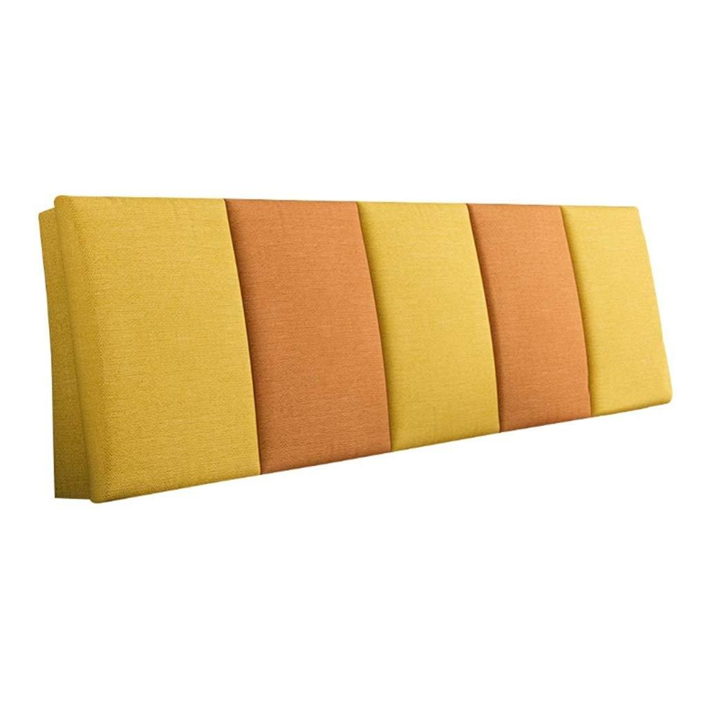 ZHWNGXO Bed Head Cushion Triangle backrest Waist Sofa Large Pillow Cushion Removable 3 Color 14 Size (Color : C, Size : NO Bed Head 160×55cm) by ZHWNGXOlian