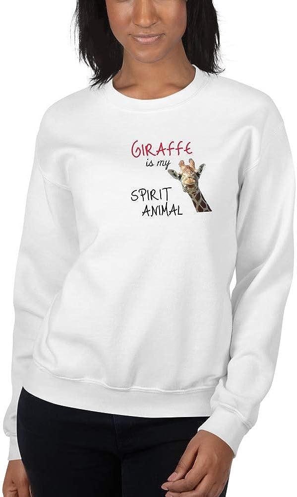 Giraffe is My Spirit Animal 255 Gotham Place Unisex Sweatshirt