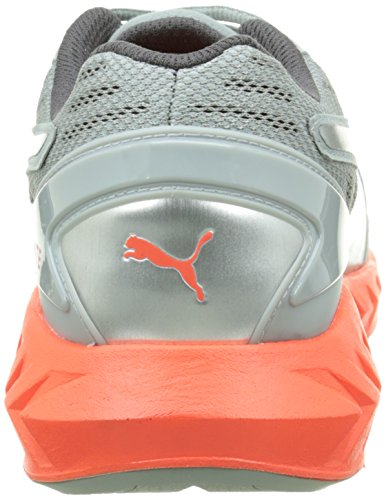 Puma Ignite Gris Zapatillas de Blast Red Running Ultimate Unisex Adulto Quarry 1rq51SF0
