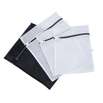 VORCOOL 8 piezas de malla fina bolsa de lavandería establece bolsas de lavado viajes bolsas de