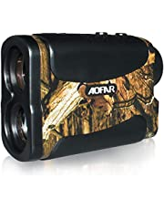 AOFAR HX-700N Hunting Range Finder 700 Yards Waterproof Archery Rangefinder for Bow Hunting with Range Scan Fog and Speed Mode, Free Battery, Carrying Case…