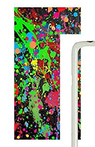 Samsung Galaxy S5 Paint Splatter PC Custom Samsung Galaxy S5 Case Cover White